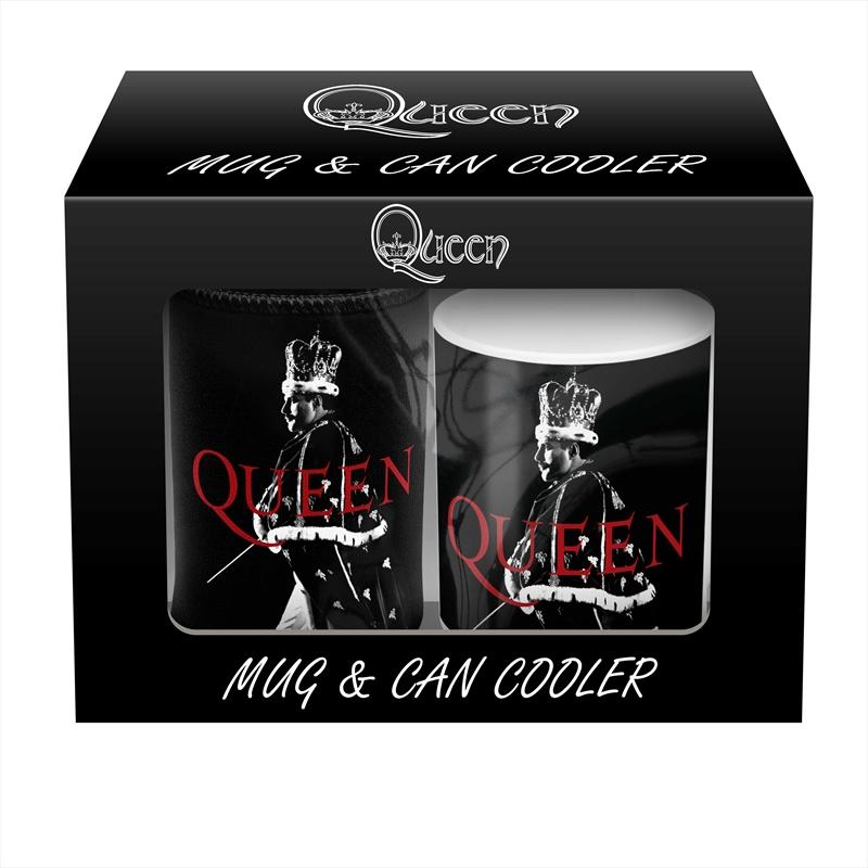 Queen - Mug/Can Cooler Pack (SANITY EXCLUSIVE) | Merchandise