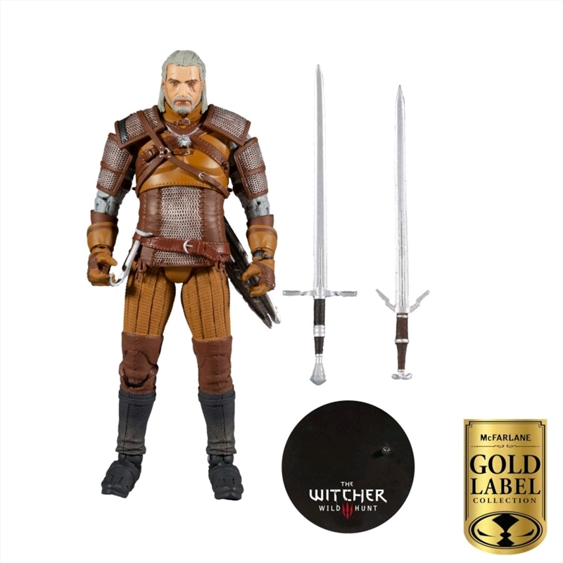 """The Witcher - Collector Series 7"""" Action Figure   Merchandise"""
