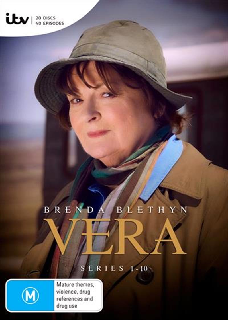 Vera - Series 1-10   Boxset   DVD