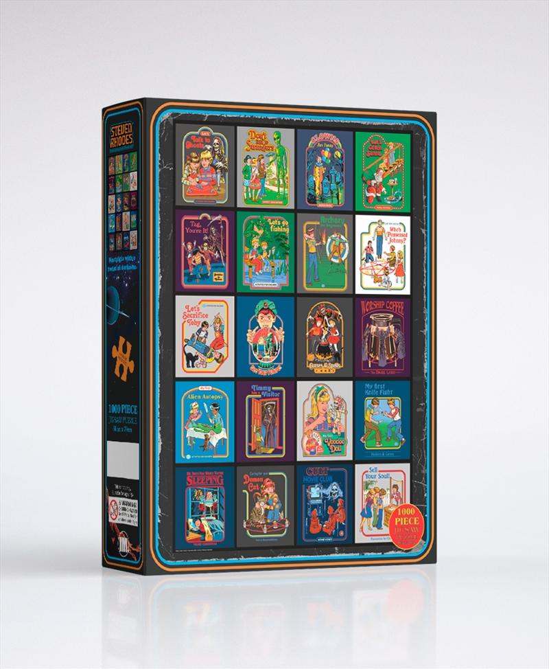 Steven Rhodes Occult 1000 Piece Puzzle   Merchandise