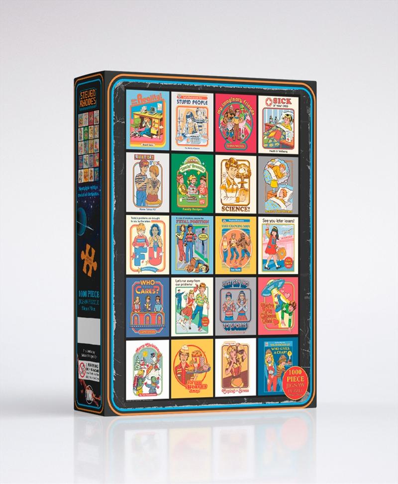 Steven Rhodes Funny 1000 Piece Puzzle | Merchandise