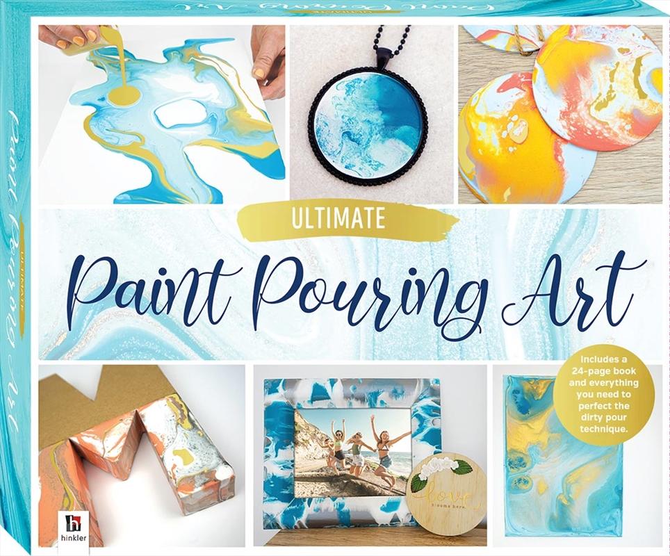 Ultimate Paint Pouring Art Box Set   Merchandise
