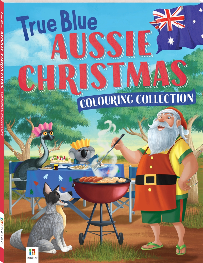 True Blue Aussie Christmas Colouring Collection | Colouring Book