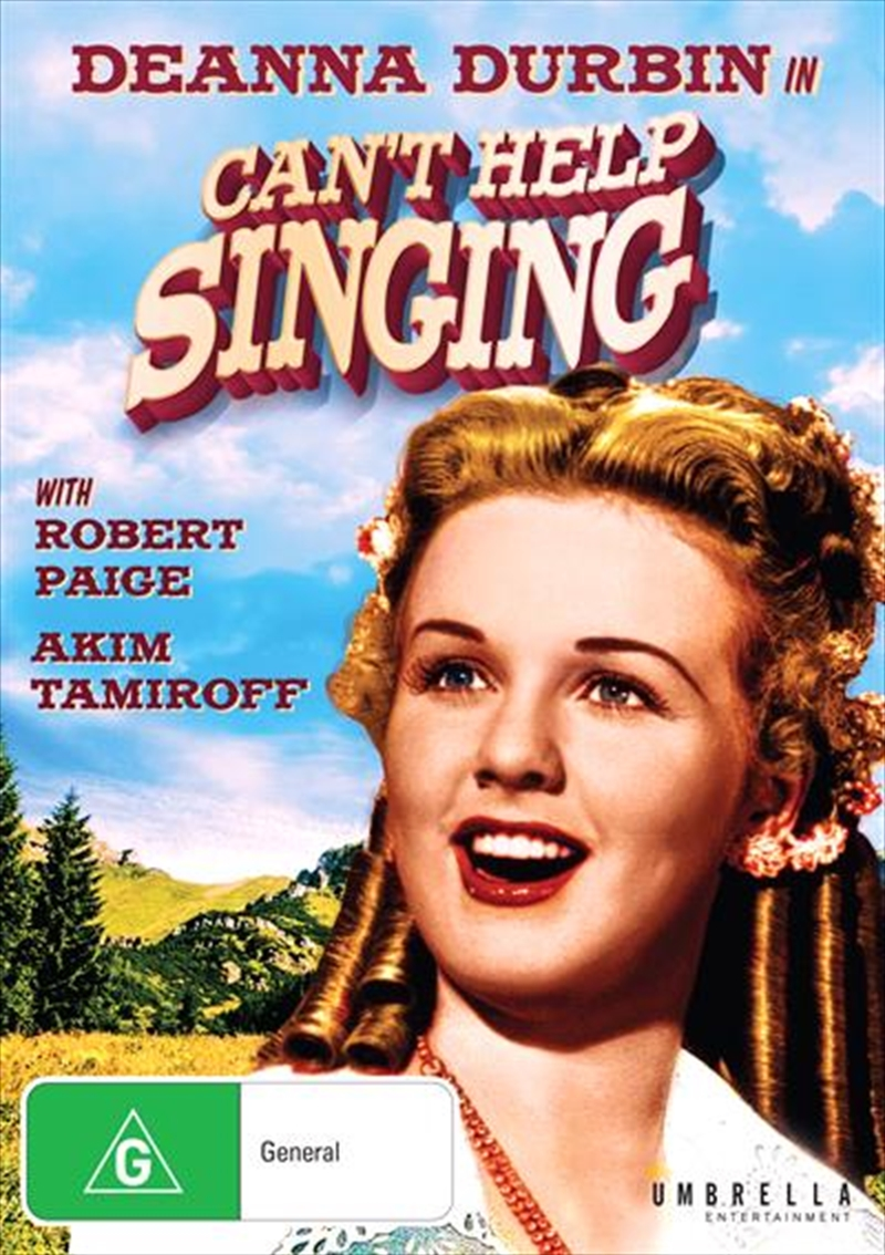 Can't Help Singing | DVD
