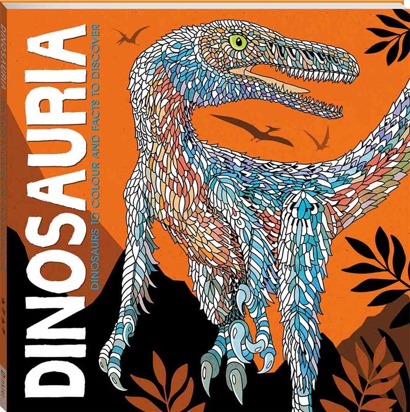 Dinosauria   Colouring Book