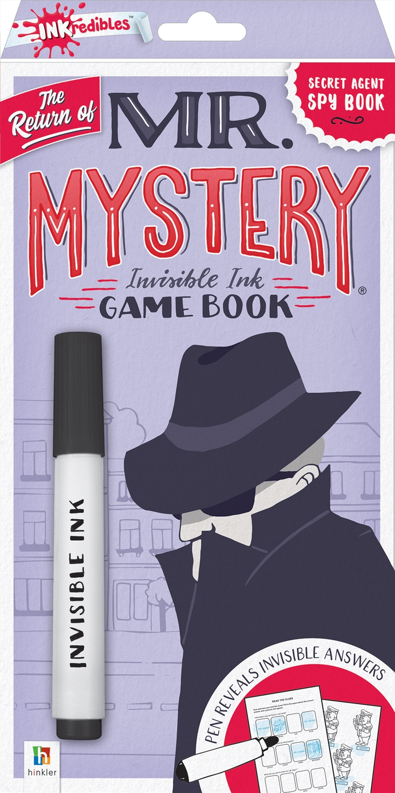 Return Of Mr Mystery | Colouring Book