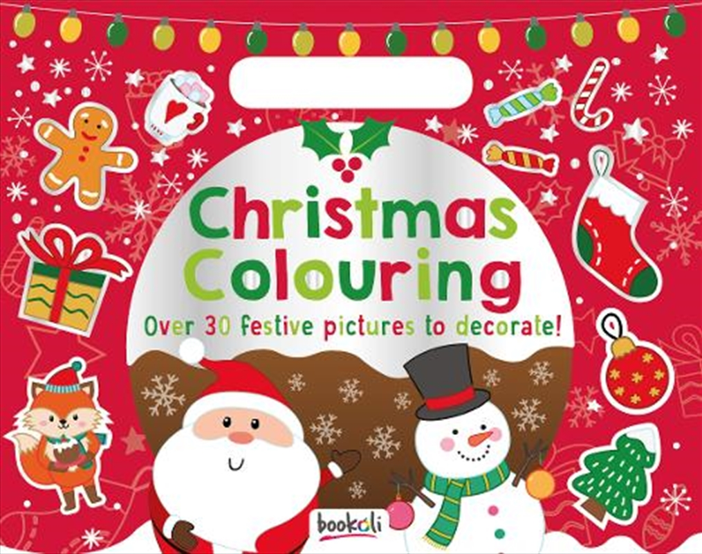 Holiday Fun Pad Christmas Colouring | Colouring Book