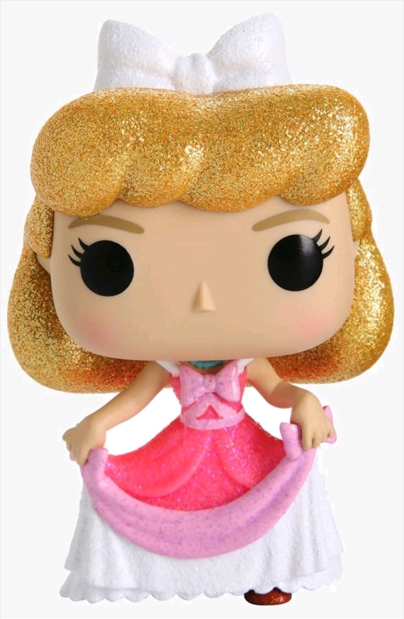 Cinderella - Cinderella Pink Dress Diamond Glitter US Exclusive Pop! Vinyl [RS] | Pop Vinyl