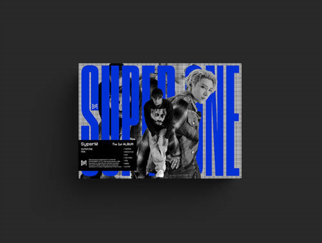 Super M - 1st Album Super One   CD
