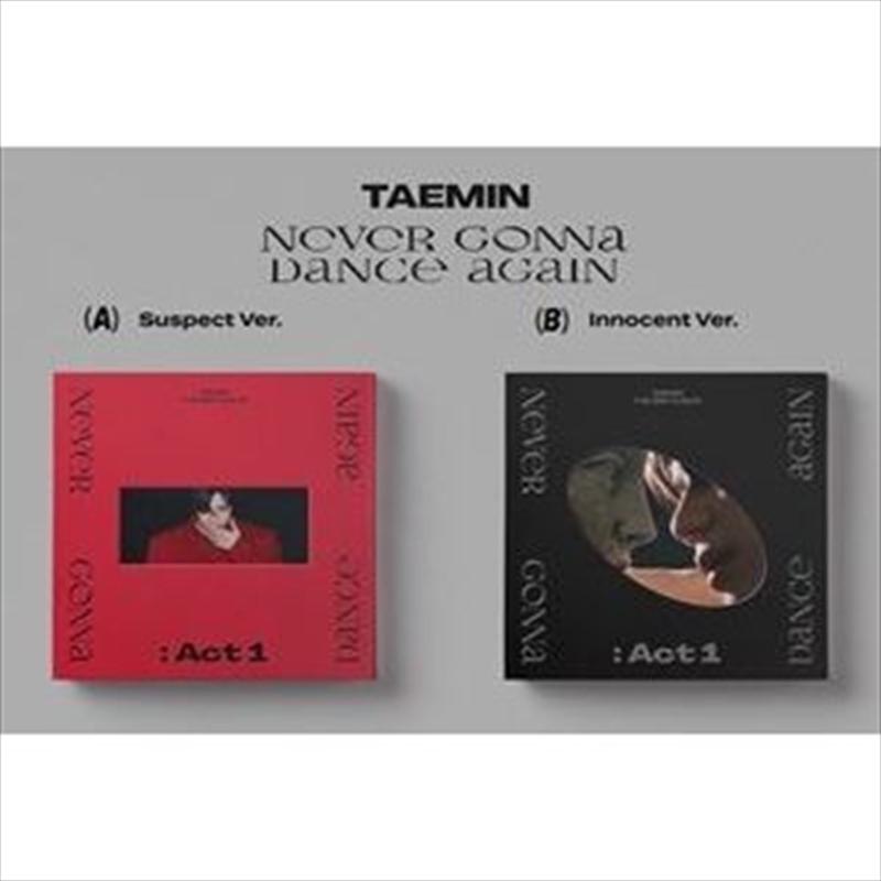 Never Gonna Dance Again - Act 1   CD
