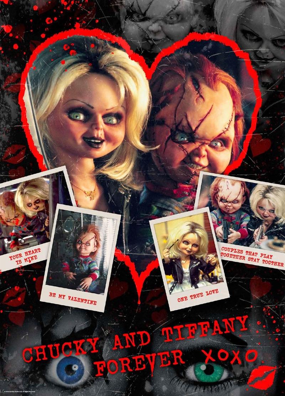 Chucky Be My Valentine 1000 Piece Puzzle   Merchandise