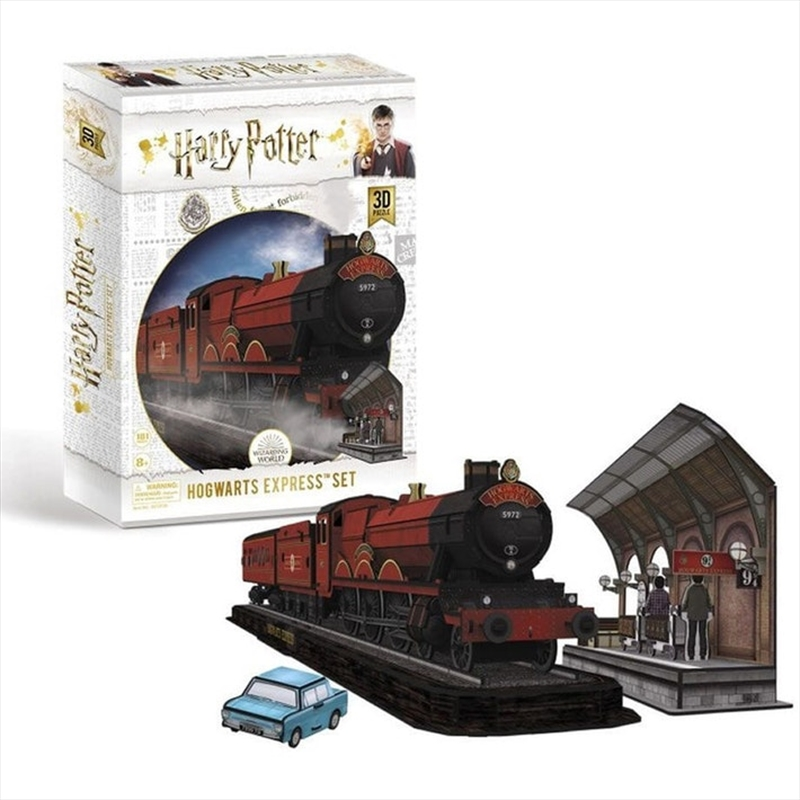 Hogwarts Express 3D Puzzle 180 Piece   Merchandise