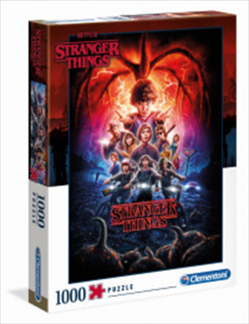 Stranger Things Puzzle 1000 Pieces   Merchandise