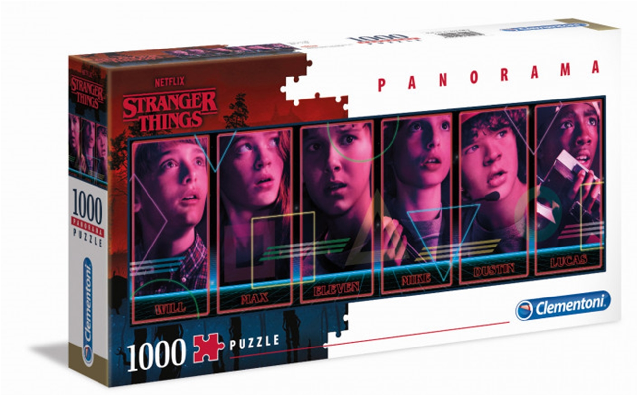 Stranger Things Panorama Puzzle 1000 Pieces | Merchandise