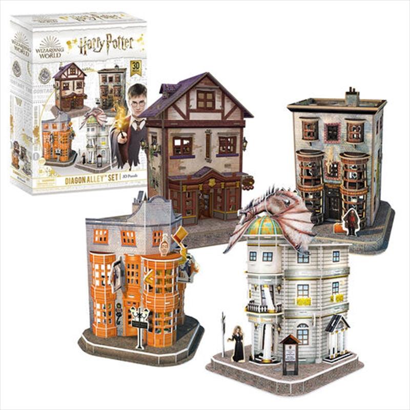 Harry Potter - Diagon Alley 3D Puzzle | Merchandise