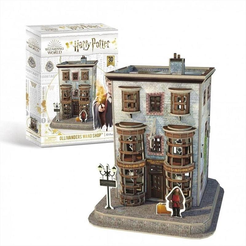 Harry Potter Ollivanders Wand Shop 66 Piece 3D Puzzle | Merchandise