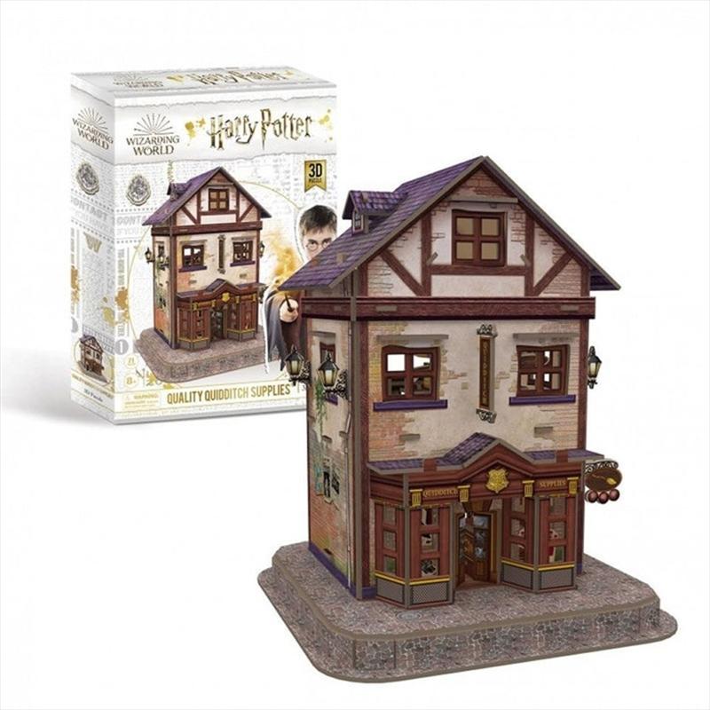 Harry Potter Quality Quidditch Suppliers 71 Piece 3D Puzzle | Merchandise