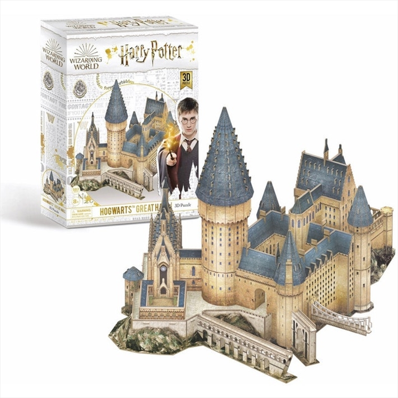 Hogwarts Great Hall 3D Puzzle 187 Pieces | Merchandise