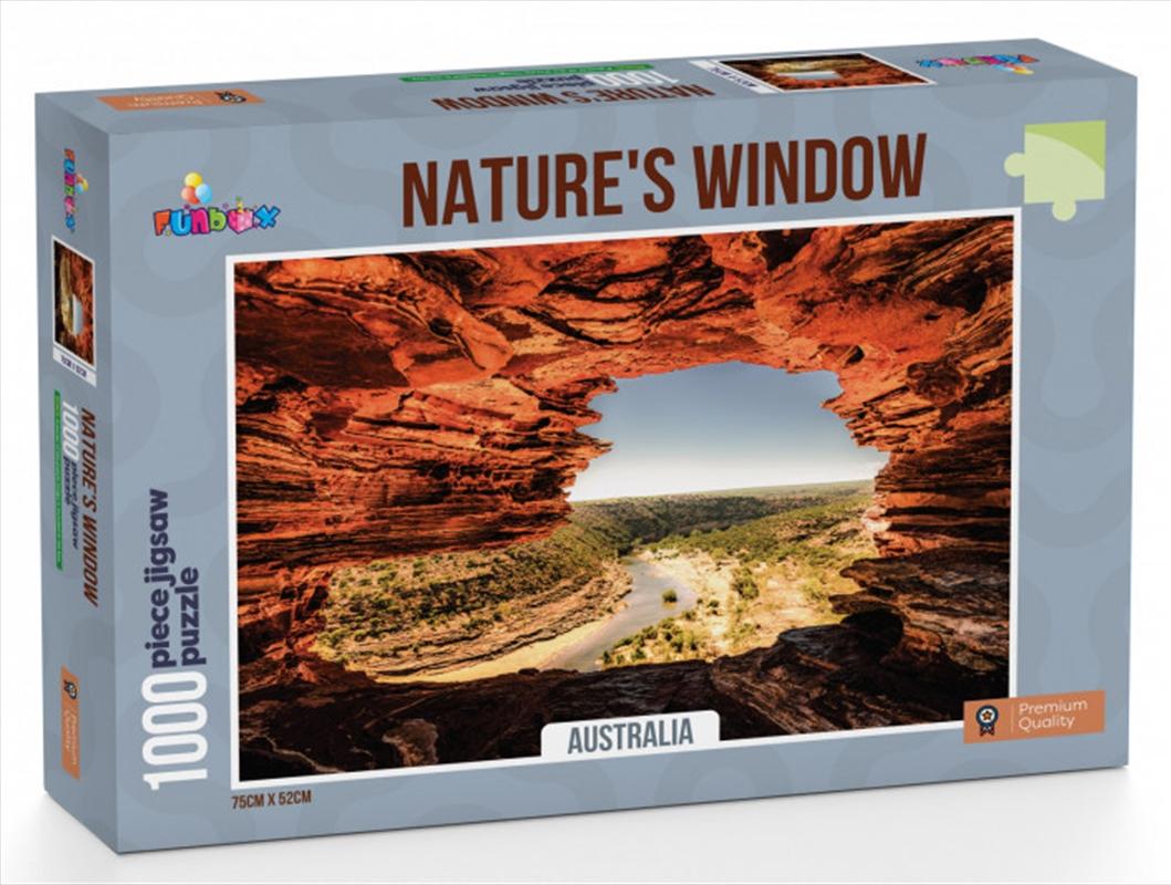 Funbox Puzzle Natures Window Australia Puzzle 1,000 pieces   Merchandise