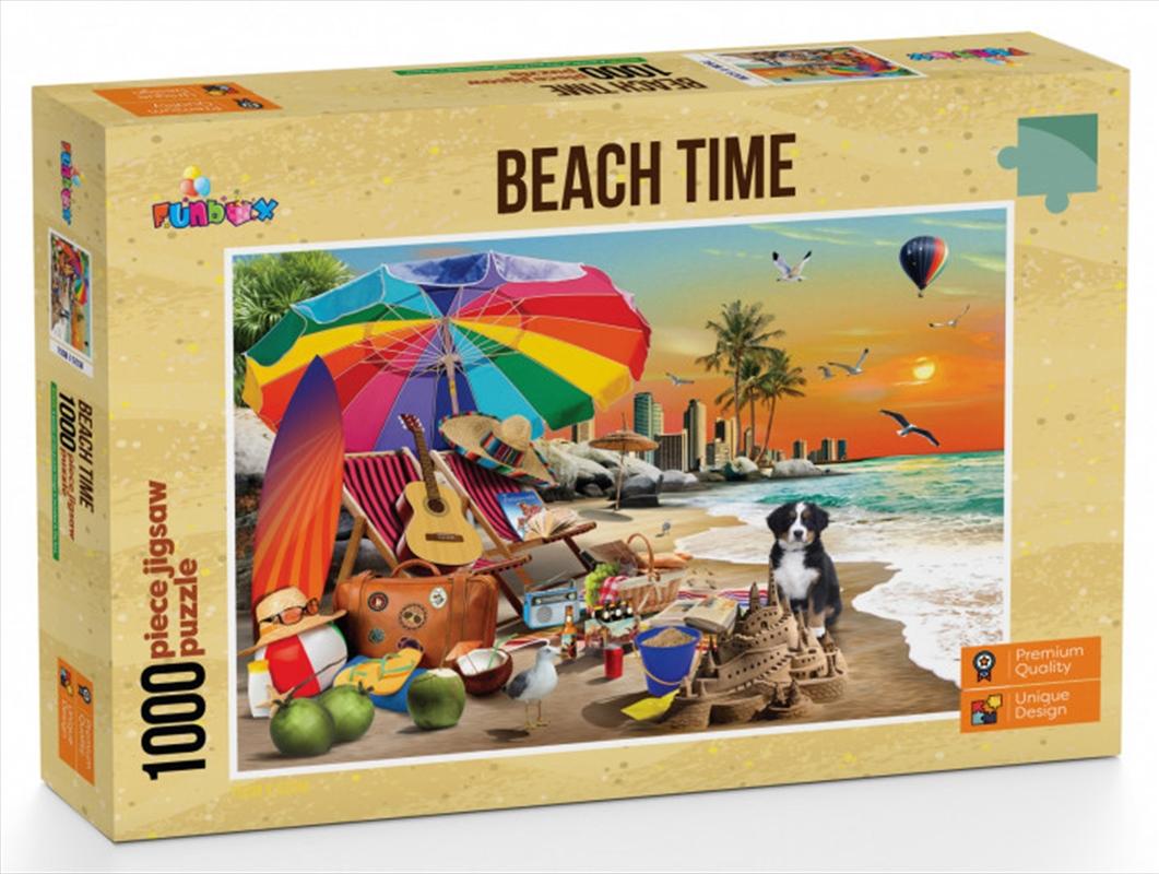 Funbox Puzzle Beach Time Puzzle 1,000 pieces | Merchandise