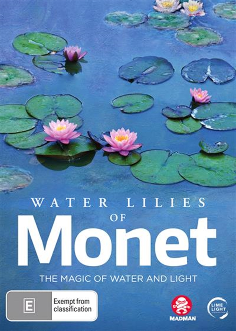 Water Lilies Of Monet - The Magic Of Water And Light | DVD