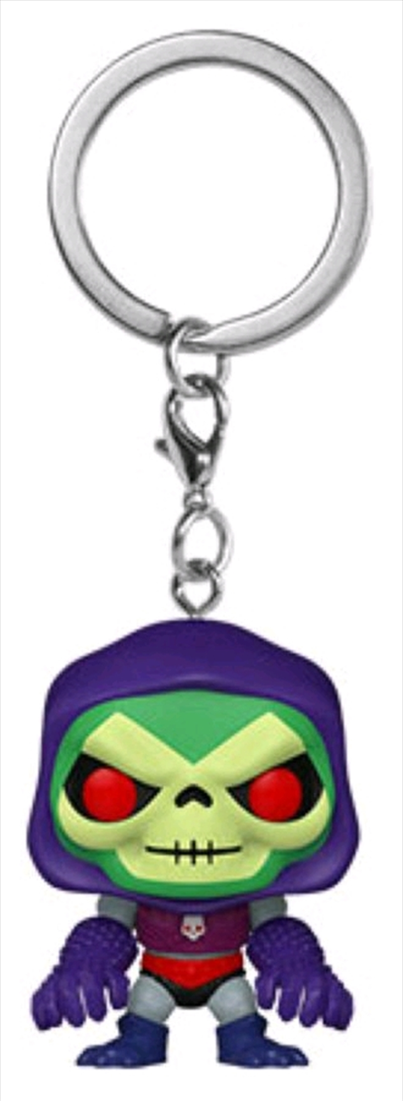 Masters of the Universe - Skeletor with Terror Claws Pocket Pop! Keychain | Pop Vinyl
