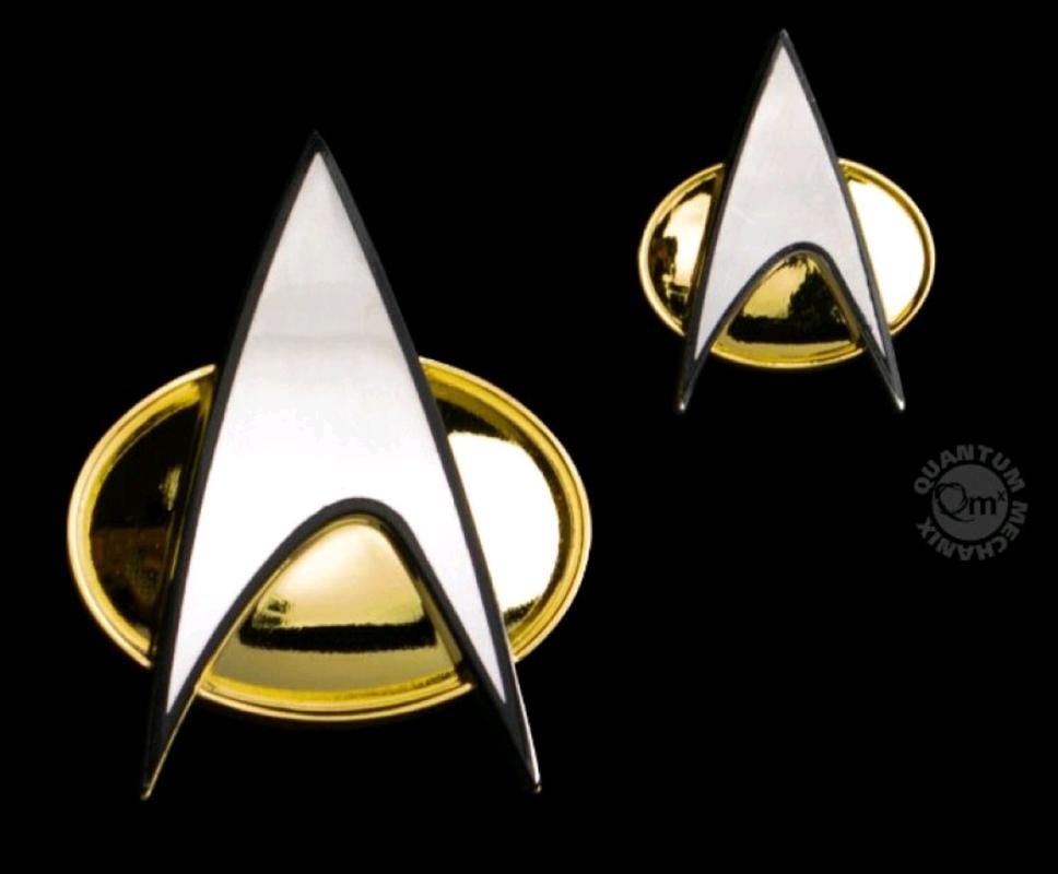 Star Trek: The Next Generation - Badge & Pin Set   Merchandise