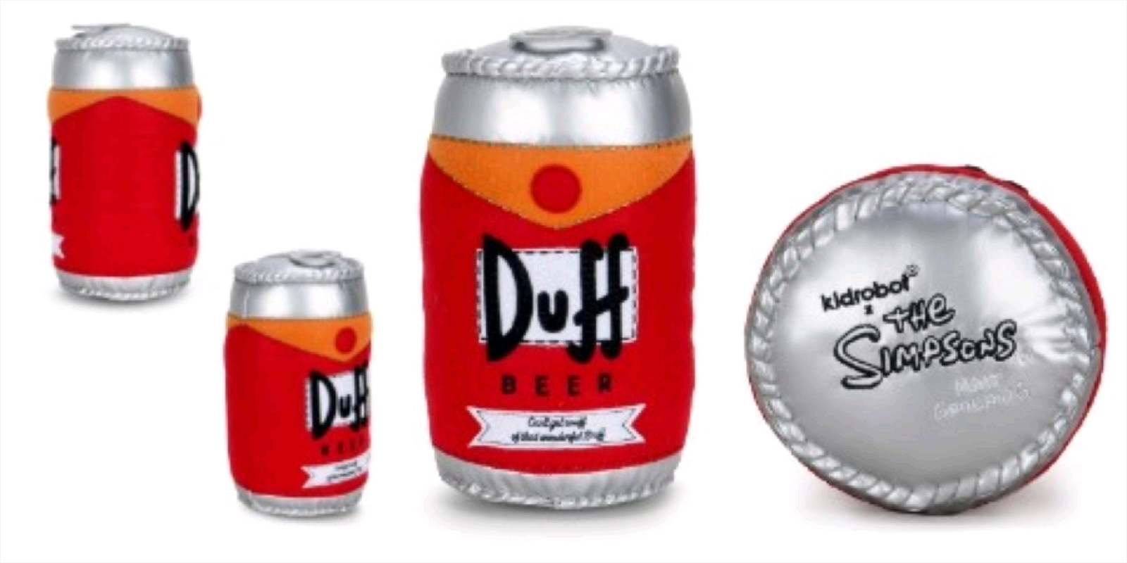 """The Simpsons - Duff Beer Can 10"""" Plush   Toy"""