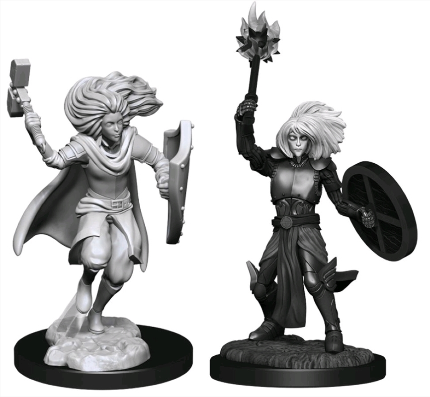 Dungeons & Dragons - Nolzur's Marvelous Unpainted Miniatures: Changeling Cleric Male   Games