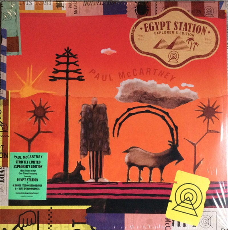 Egypt Station Explorer's Edition   Vinyl