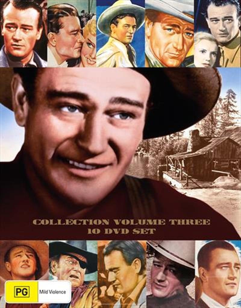John Wayne - Vol 3 | Collection | DVD