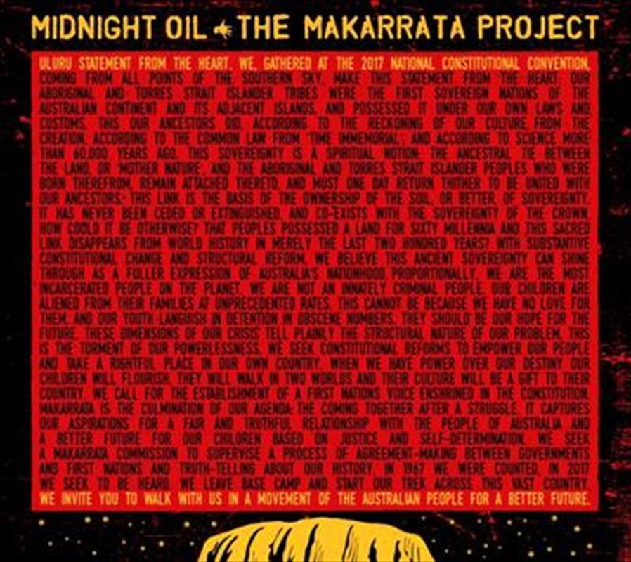 Makarrata Project, The (Bonus Enamel Pin)   CD