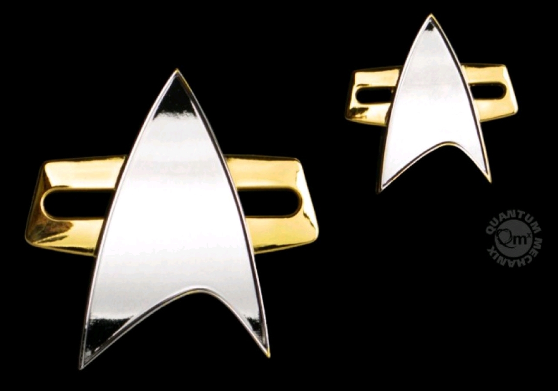 Star Trek: Voyager - Badge & Pin Set | Merchandise