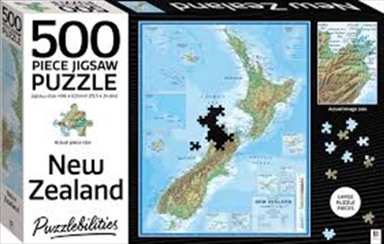New Zealand - 500 Piece Puzzle | Merchandise