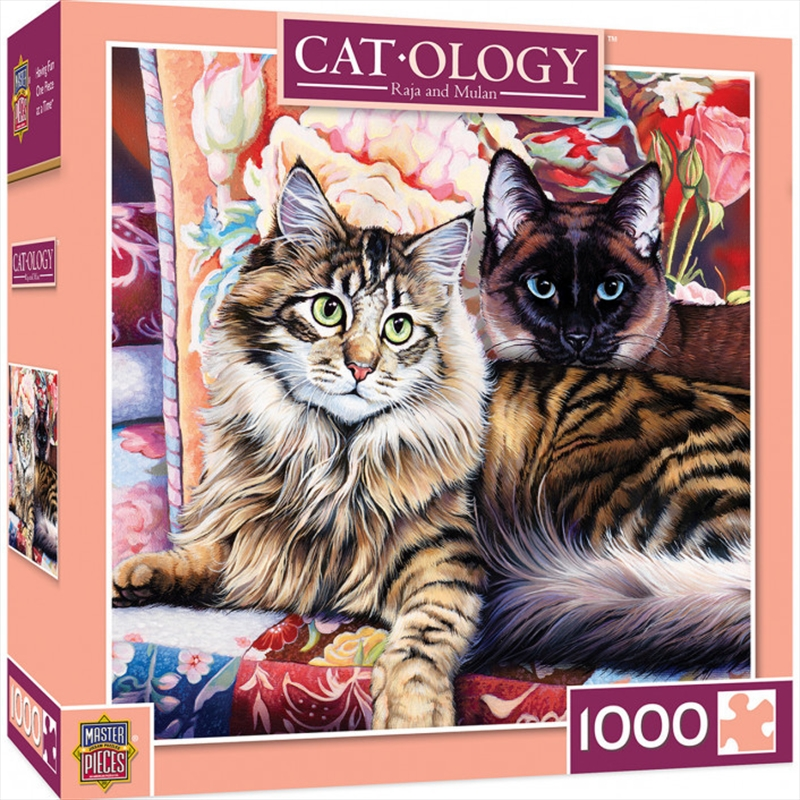 Cat-ology Raja and Mulan Puzzle 1,000 pieces | Merchandise