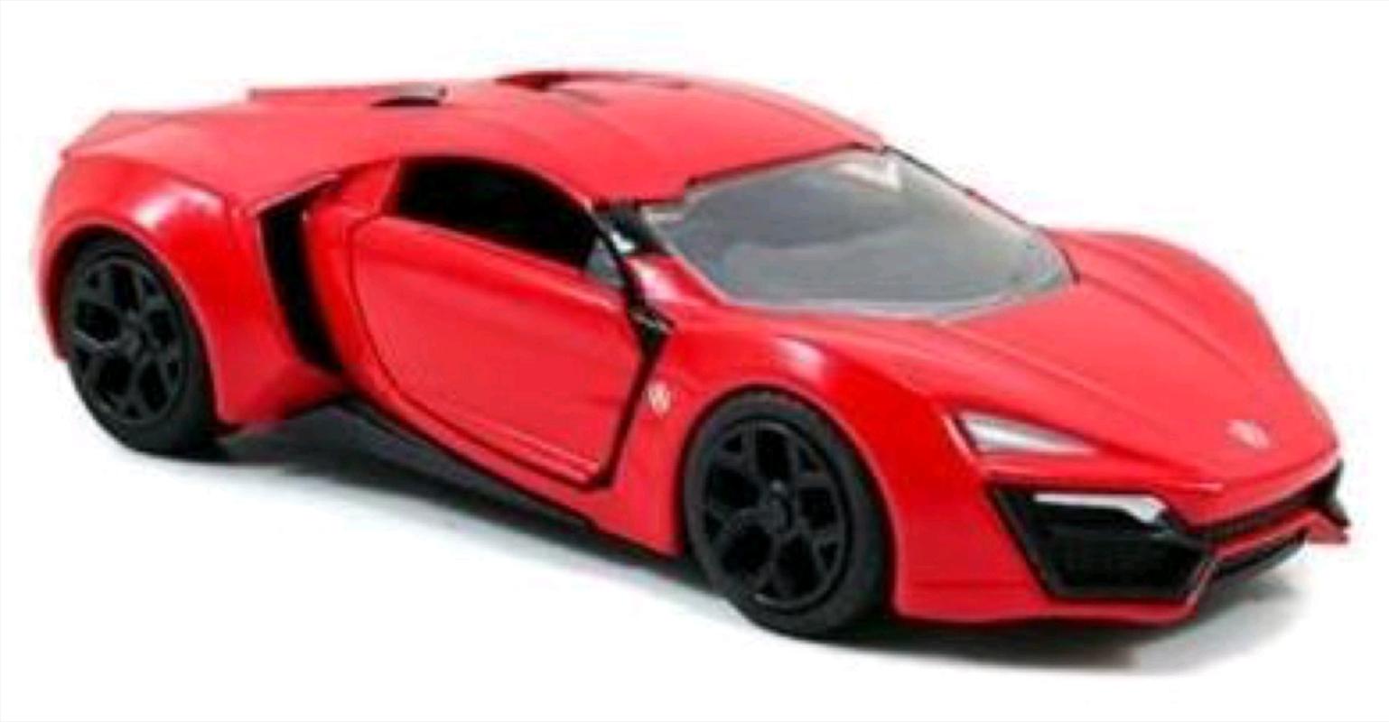 Fast & Furious - Lykan Hypersport 1:32 Hollywood Ride | Merchandise