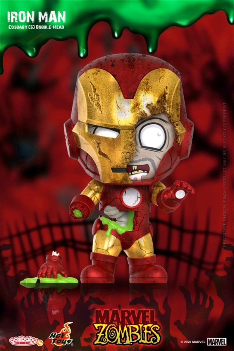 Marvel Zombies - Iron Man Cosbaby | Merchandise