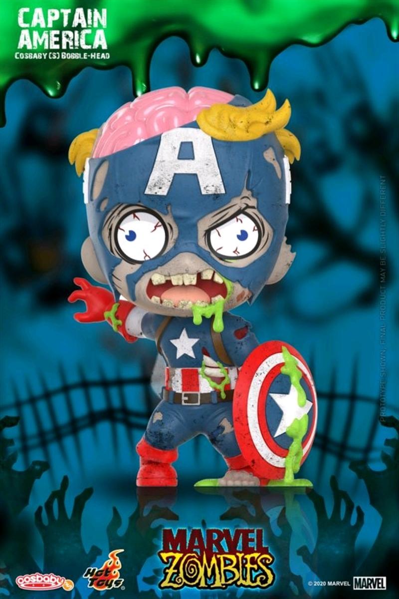 Marvel Zombies - Captain America Cosbaby | Merchandise