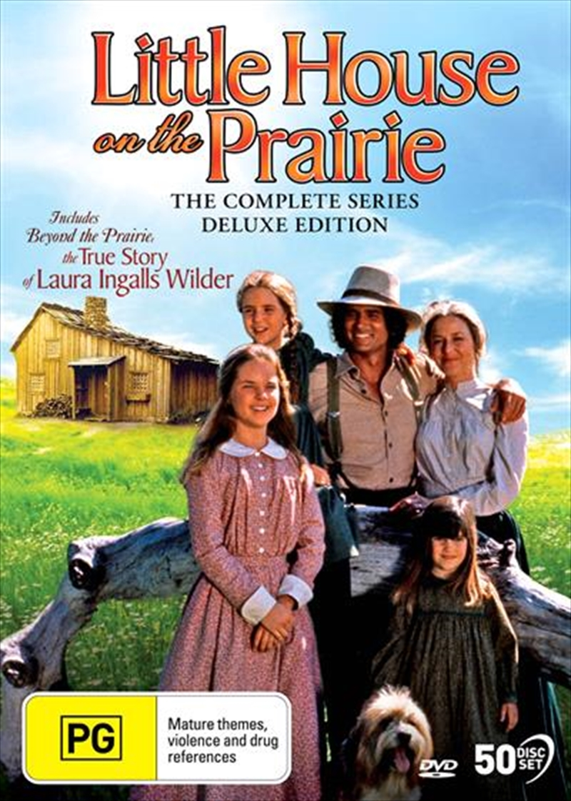 Little House On The Prairie - Deluxe Edition | Complete Series | DVD