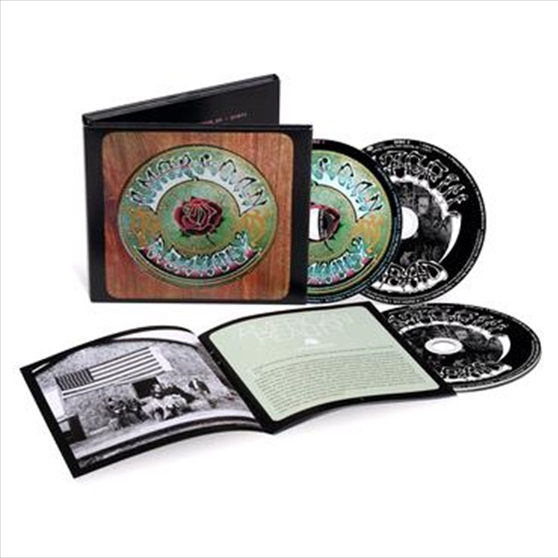 American Beauty - 50th Anniversary Deluxe Edition   CD