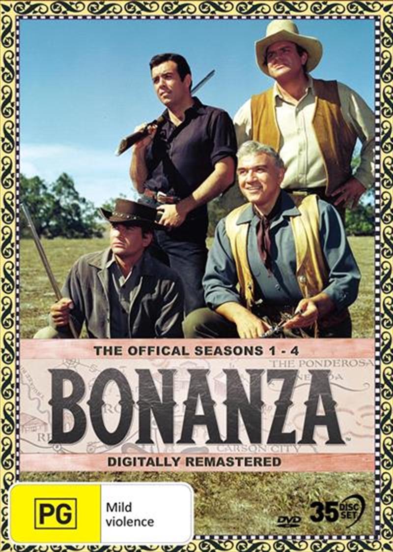 Bonanza - Season 1-4 | DVD