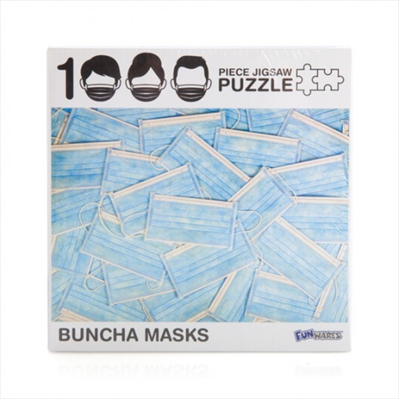 Buncha Masks 1000 Piece Jigsaw Puzzle   Merchandise