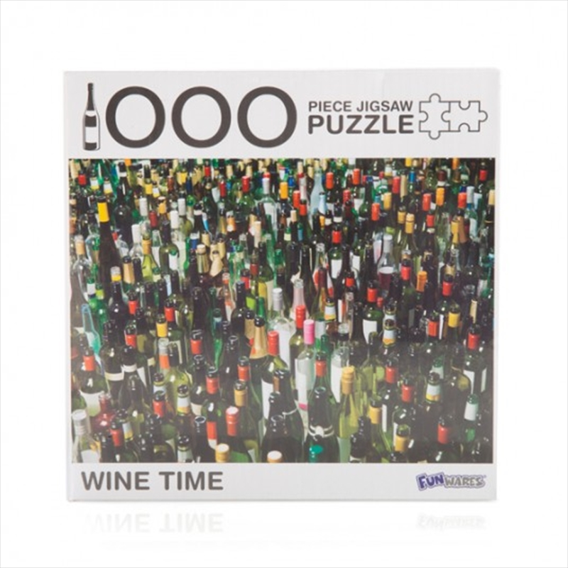 Wine Time 1000 Piece Jigsaw Puzzle | Merchandise