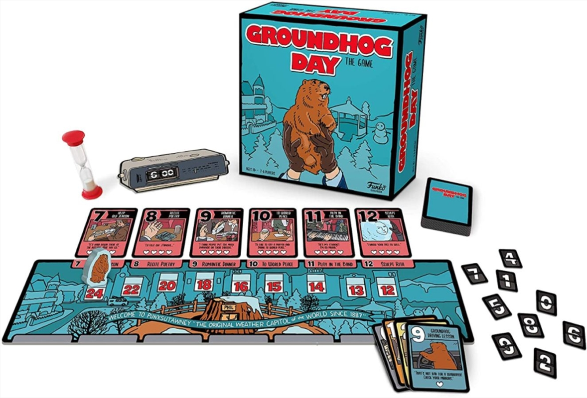 Groundhog Day The Game   Merchandise