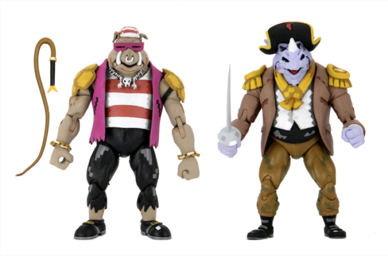Teenage Mutant Ninja Turtles - Pirate Rocksteady & Bebop Action Figure 2-pack   Merchandise