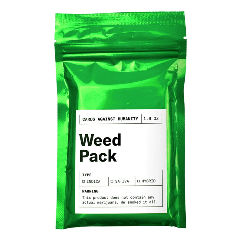 Cards Against Humanity Weed Pack | Merchandise