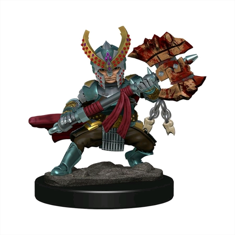 Dungeons & Dragons - Icons of the Realms Premium Halfling Fighter Female | Games