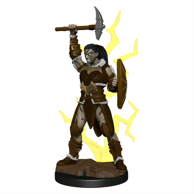 Dungeons & Dragons - Icons of the Realms Premium Goliath Barbarian Female   Games