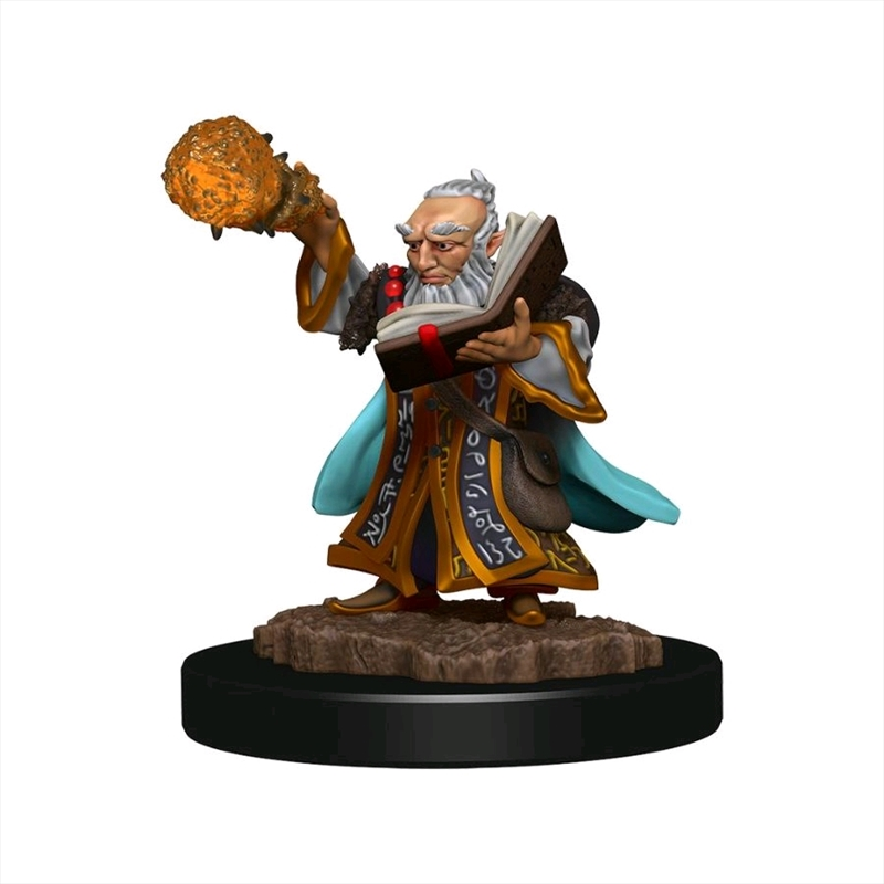 Dungeons & Dragons - Icons of the Realms Premium Gnome Wizard Male   Games