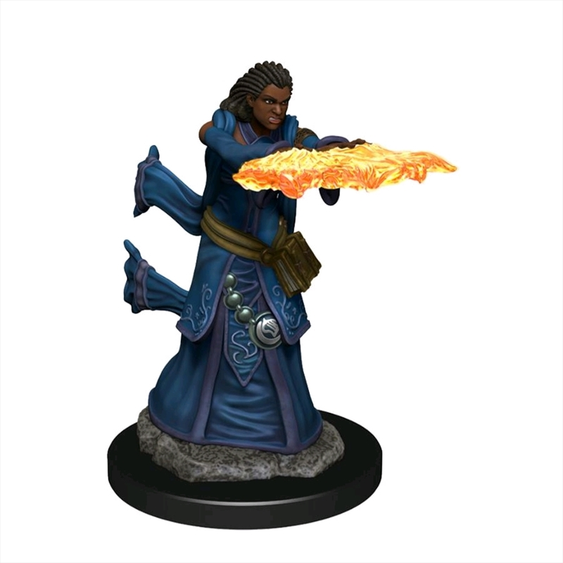 Dungeons & Dragons - Icons of the Realms Premium Human Wizard Female   Games